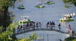 В парке Горького в Москве прошла первая акция на площадке «гайд-парка»