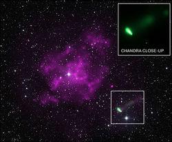 Обнаружен самый плотный и одновременно самый быстрый пульсар