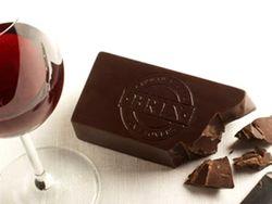 шоколад и виноград