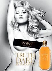 Мадонна с духами пополнила длинный список топлесс звезд в рекламе
