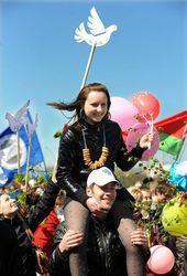 2,3 миллиона россиян отпраздновали Первомай по всей стране
