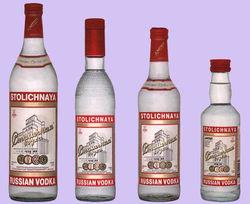 Русская водка вне ТОПов на мировом рынке