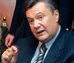 Янукович подписал ряд законодательных актов, принятых на выездном заседании ВР