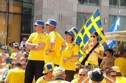 15 тысяч шведских болельщиков уже прибыли в Киев на Евро-2012
