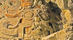 Необычный храм майя в джунглях Гватемалы