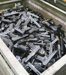 Почему утилизированное огнестрельное оружие выбросили в овраг?