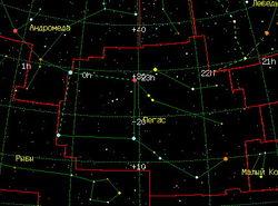 Обратный адрес Челябинского метеорита – созвездие Пегаса