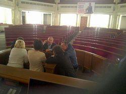СМИ о ВР Украины: регионалы пришли ночью, постояли, ушли