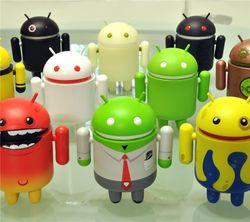 Практически 71 процент российского рынка поглотила Android