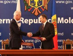 Поль-Анри Форестье и Владимир Филат