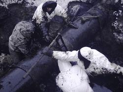 Порыв нефтепровода