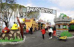 Angry Birds готовится инвестировать в парки развлечения России
