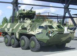 Украина будет поставлять БТРы в Казахстан