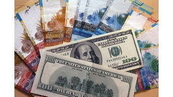 Курс тенге снизился к евро и фунту стерлингов