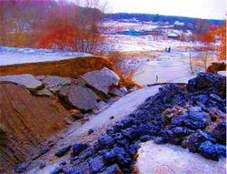 Повреждение дамбы в Омской области не привело к прорыву воды
