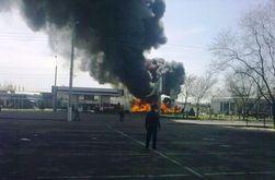 В Мариуполе взорвалась заправка - есть пострадавшие