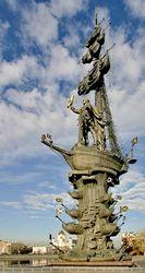 Туроператоры откроют смотровые площадки памятника Петру I