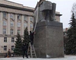 Восстановления монумента Ленину в Черкассах не будет, - УДАР