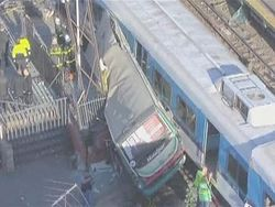 В Сант-Паулу столкнулись два поезда метро