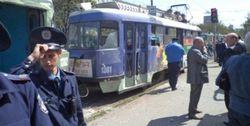 Взрыв в трамвае не имеет отношения к терактам в Днепропетровске