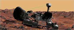 Марсоход «Curiosity» успешно протестировал ходовые и рулевые функции