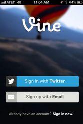 Приложение Vine от Twitter в Facebook заблокировано