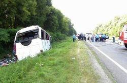 В Украине очередное ДТП с пассажирским микроавтобусом – есть пострадавшие