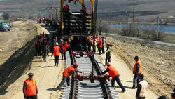 Казахстан построит ж/д магистраль с Китаем