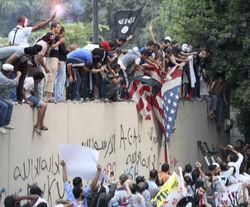 В Каире протестующие мусульмане вновь штурмовали посольство США