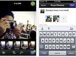Facebook представила фотоприложение для мобильных устройств