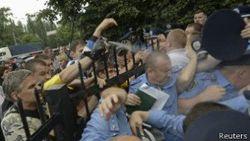 """Милиция Киева проверяет обстоятельства инцидента с активисткой """"Шлях"""""""