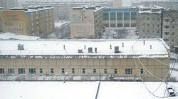 В России в городе Надым выпал снег - аномалии природы
