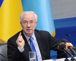 Азаров отреагировал на решения горсоветов относительно символики СССР