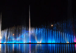 В Виннице снова открывается светомузыкальный фонтан