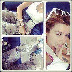 Звезда Дом-2: Ксения Бородина выложила фото ню без макияжа