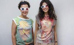 Дизайнер из Украины создала одежду с 3D-изображением