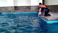 Пострадавшей в санатории Юность девочке стало легче благодаря дельфинам