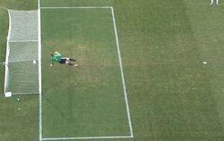 Британская компания использовала в рекламе кадр незасчитанного Украине гола в ходе Евро-2012
