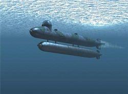 ВВС Японии обнаружили подлодку неизвестной госпринадлежности