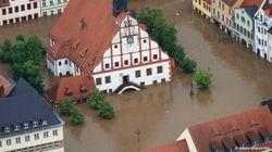 Наводнение в Германии: Большая вода катится на север