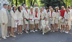 Лукашенко проводил белорусских спортсменов на Олимпиаду в Лондоне