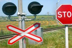 Семнадцатилетний мотоциклист попал под поезд