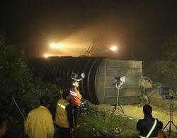 На месте крушения грузового поезда, в Балтиморе обрушились несколько зданий