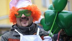 Сегодня день святого Патрика - пиво и зелень