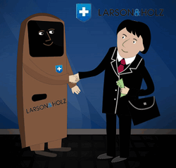 Larson and Holz: мы платим за клиентов