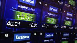 Акции Facebook начали рост на бирже
