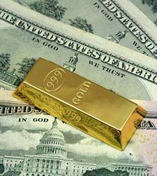 Укрепление американской валюты снижает стоимость золота