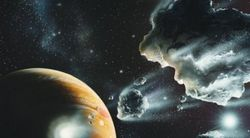 В 2014 году в Марс может врезаться комета с силой взрыва 20 млрд. мегатонн
