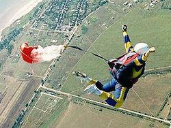 Россиянин выжил, несмотря на нераскрывшийся парашют