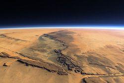 Данные марсохода Curiosity подтверждают, что ранее на Марсе была атмосфера